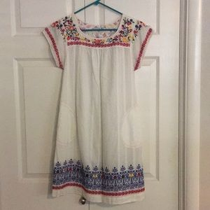 Dresses & Skirts - Embroidered dress with slip